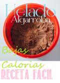 Receta Helado Algarroba Bajas Calorias