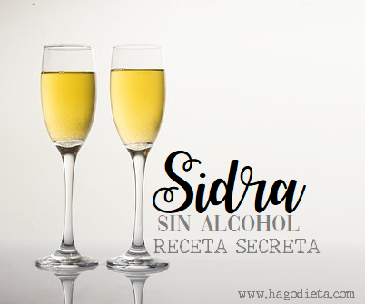 Receta Sidra sin Alcohol para Navidad