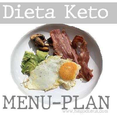 Dieta Keto Menu Plan de 5 Dias