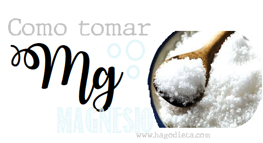 Como Tomar Magnesio