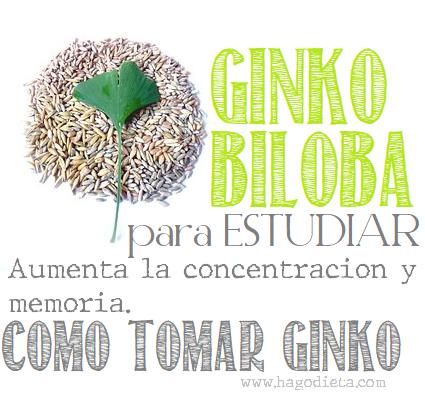 Como Tomar Ginko Biloba para la Salud del Cerebro