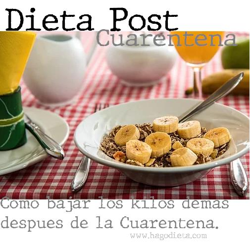 Dieta Post Cuarentena