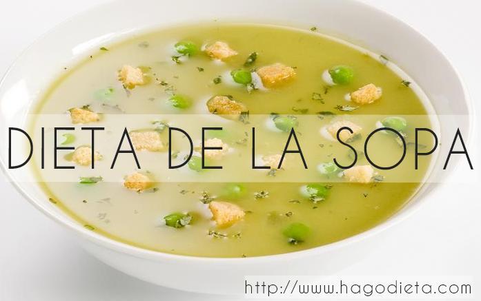 dieta de la sopa  http www hagodieta com