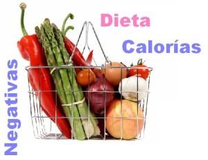 dieta calorias negativas