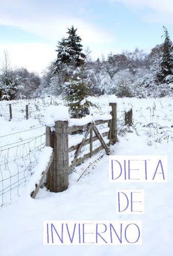 dieta invierno