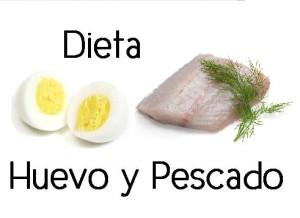 dieta  rapida huevo pescado