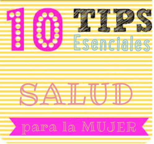 10 tips salud mujer