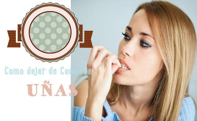 9 remedios naturales dejar comer uñas