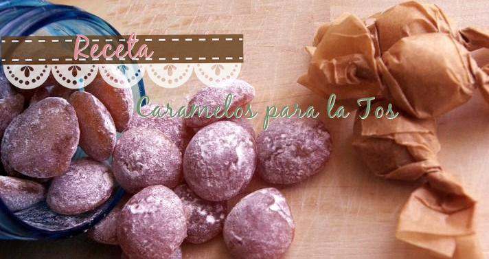 caramelos para tos receta