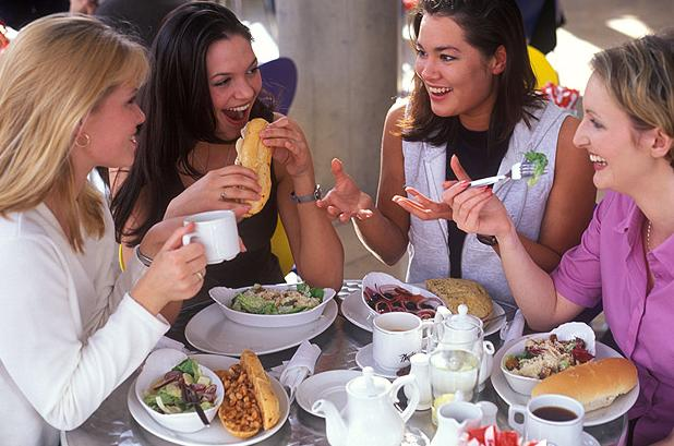 comer afuera sin engordar