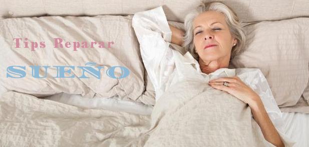 reparar sueño