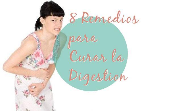 8 remedios curar digestion