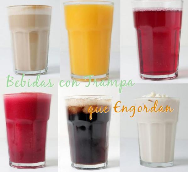 bebidas calorias