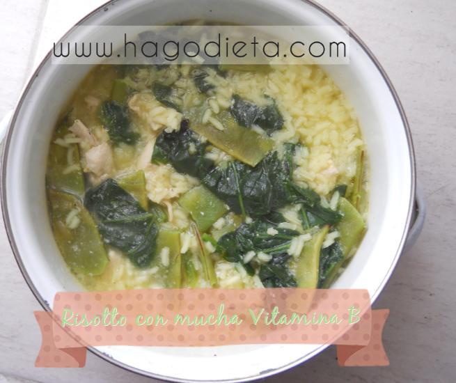 receta risotto con vitamina B
