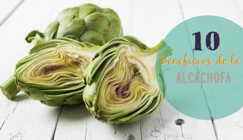 beneficios alcauciles alcachofa