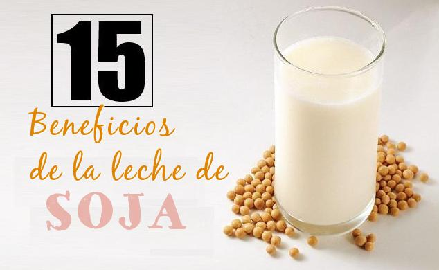 beneficios leche soja