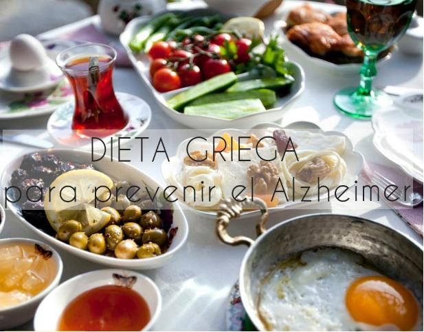 dieta griega prevenir alzhaimer