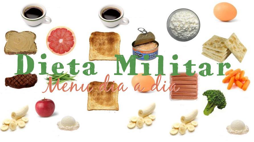 dieta militar 3 dias menu