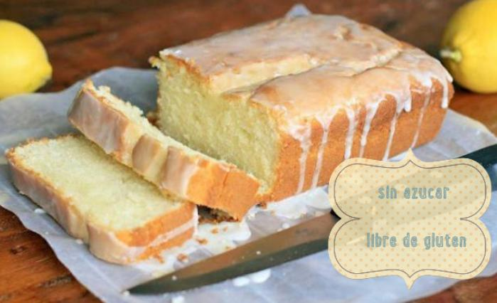 pastel torta limon sin azucar no gluten