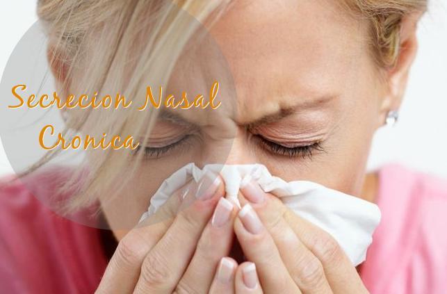secrecion nasal rinorea remedios