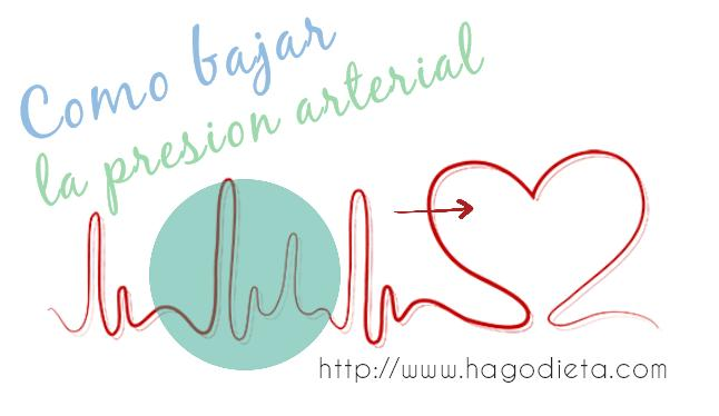 como bajar presion http www hagodieta com