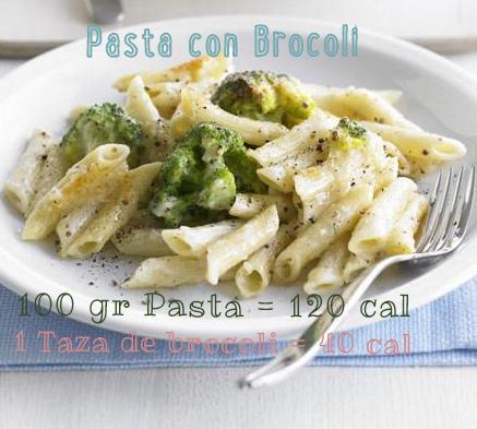 pasta brocoli dieta pasta adelgazar