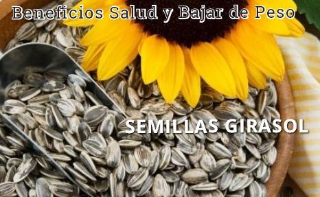 semillas girasol salud http www hagodieta com