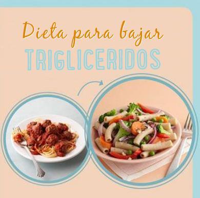 dieta bajar trigliceridos http www hagodieta com