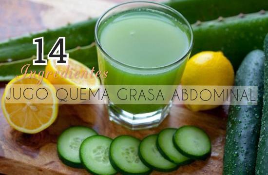 jugo quema grasa abdominal http www hagodieta com