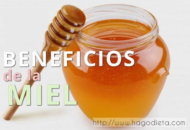 beneficios miel http www hagodieta com