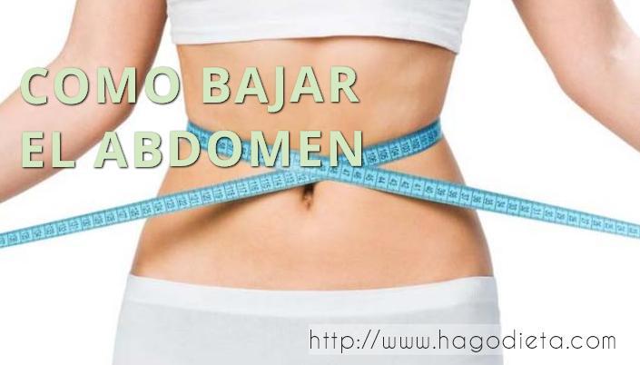 como bajar abdomen http www hagodieta com
