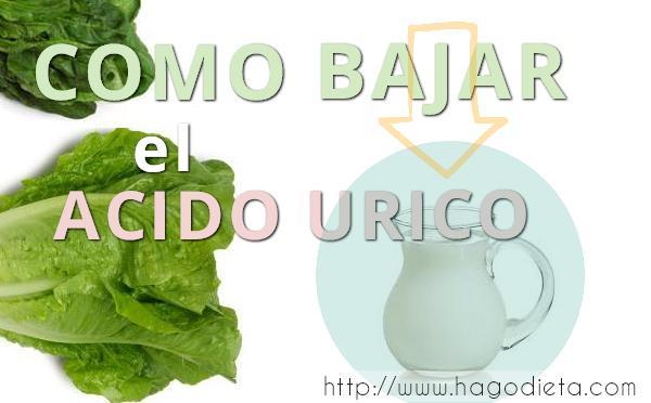 como bajar acido urico http www hagodieta com