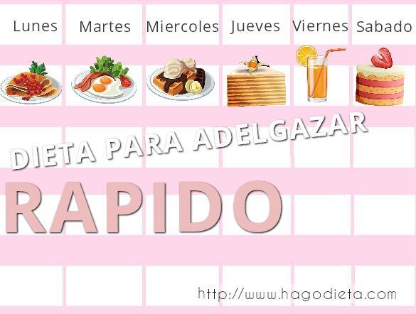 dieta adelgazar rapido http www hagodieta com