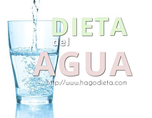 dieta agua http www hagodieta com