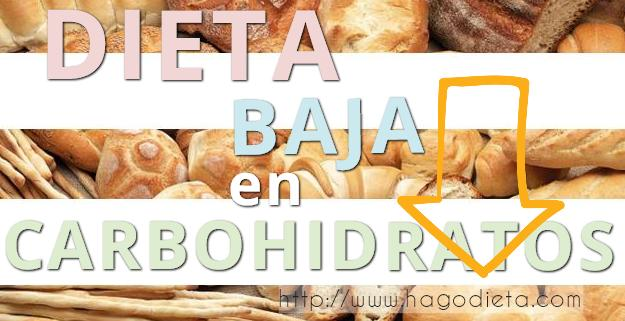 dieta baja carbohidratos http www hagodieta com