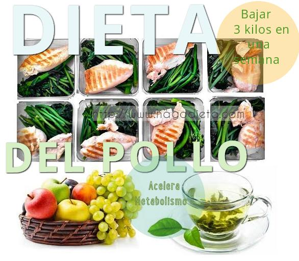 dieta del pollo 1 http www hagodieta com