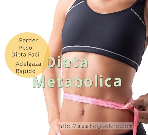 dieta metabolica http www hagodieta com