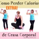 perder calorias grasas