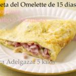 dieta omelette