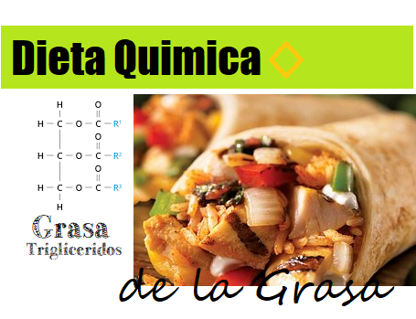 Dieta Quimica de las Grasas Menu 3 dias
